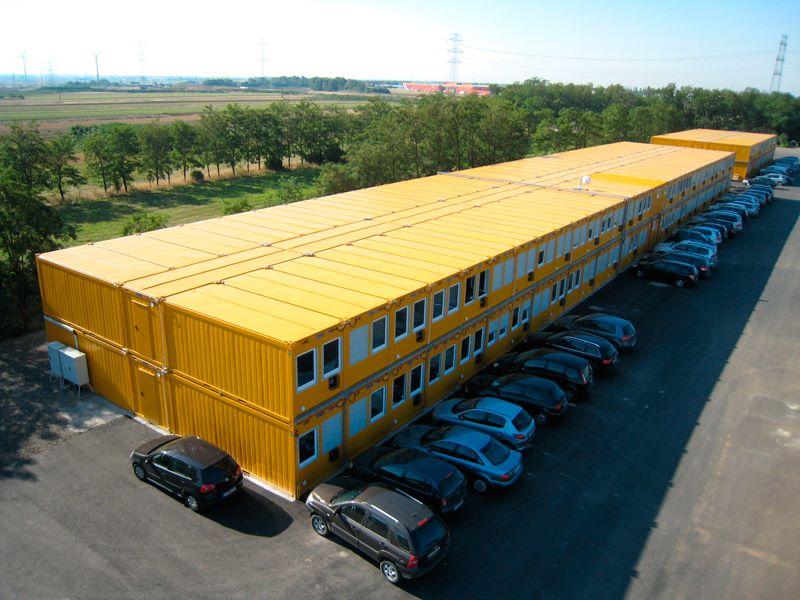 Bürocontaineranlage